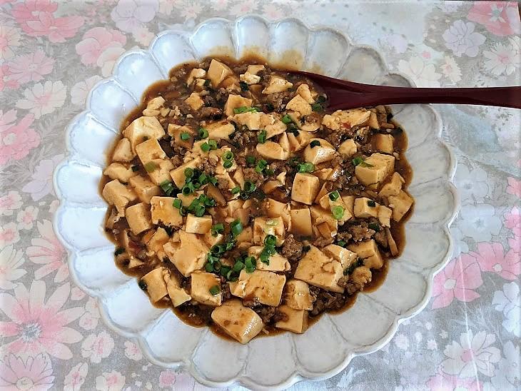 ねこまんまの麻婆豆腐