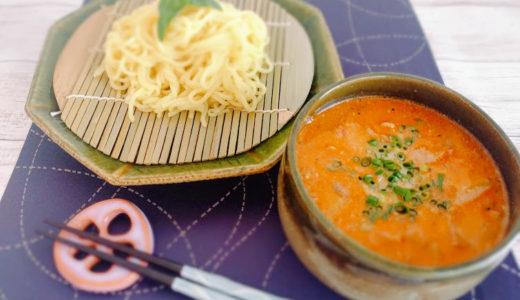【レシピ】トマトと豚肉のつけ麺冷やし中華