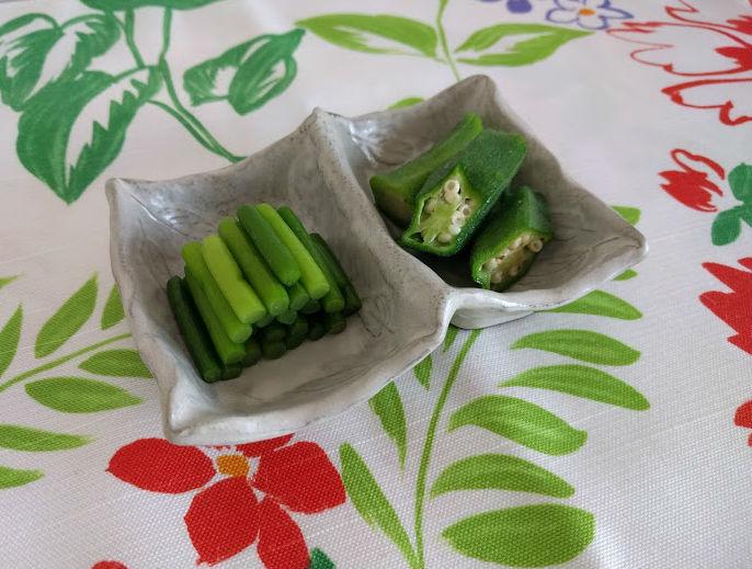クセになる美味しさ!にんにくの芽の浅漬【だしとうま味の料理教室|名古屋】
