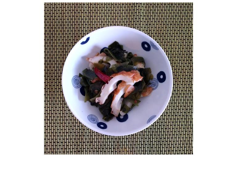 低糖質メニューわかめのペペロンチーノ【だしとうま味の料理教室|名古屋】