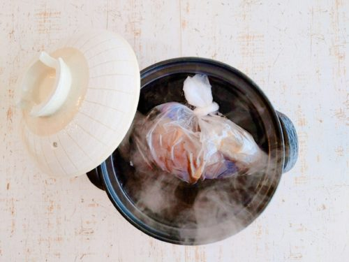土鍋でローストビーフ