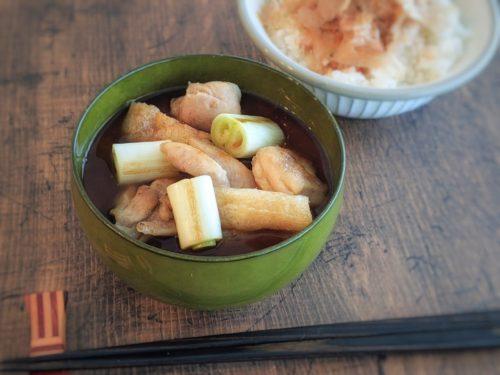 ねぎまのお味噌汁