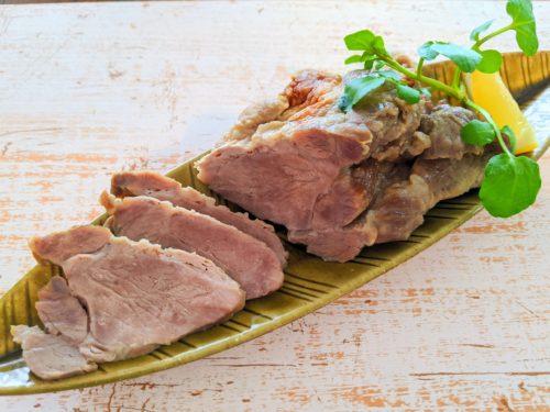 ベジブロスの塩煮豚